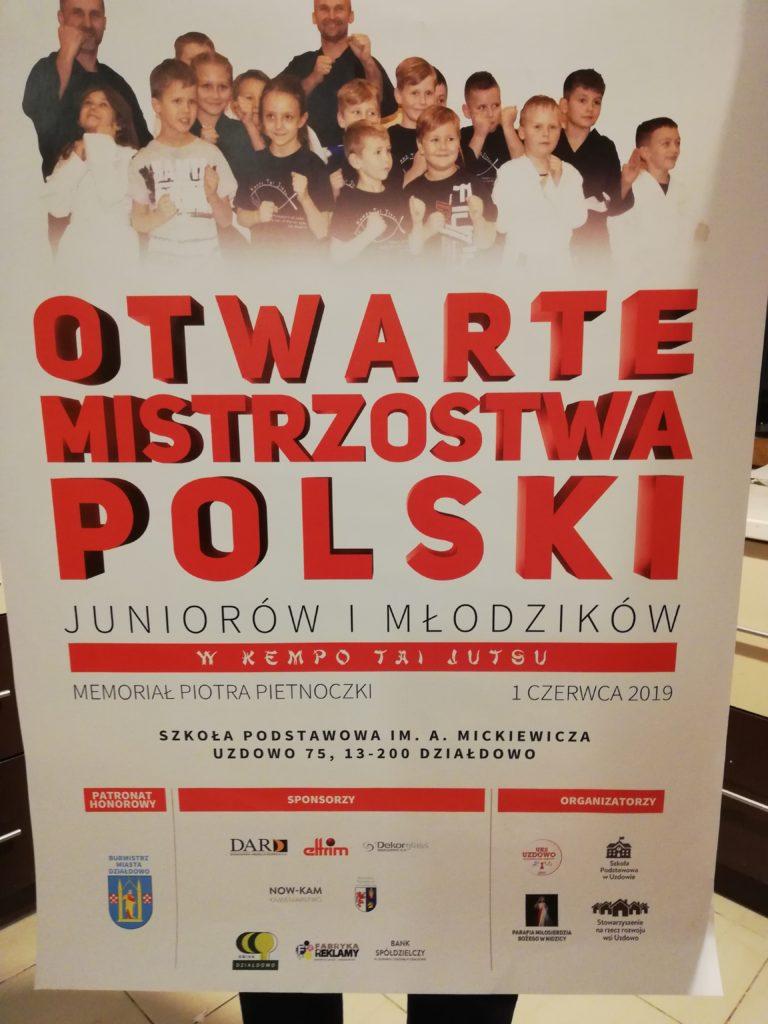 Zaproszenie na Otwarte Mistrzostwa Polski do Uzdowa