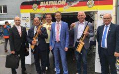 """Delegacja Powiatu Działdowskiego na festiwalu """"Hessentag"""" w Bad Hersfeld"""