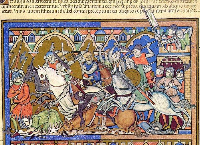 Odwiedź obozowisko średniowieczne w Niechłoninie