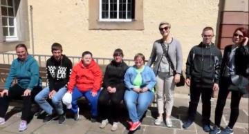 Podopieczni działdowskiego koła PSONI w niemieckim powiecie Hersfeld-Rotenburg (film)