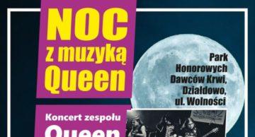 Zaproszenie na koncert rockowy