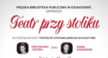 """Zaproszenie na """"Rewanż"""" do działdowskiej MBP"""