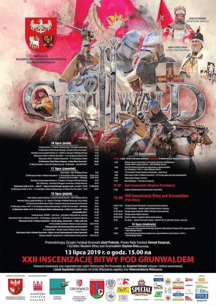 Dni Grunwaldu – inscenizacja bitwy 13 lipca!