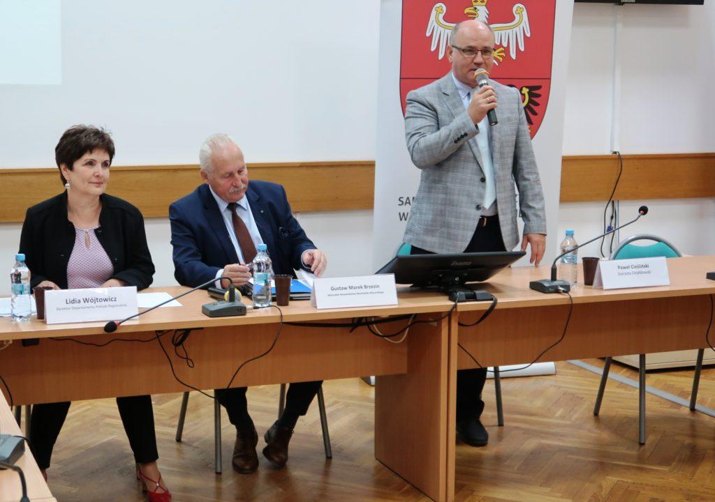 Spotkanie konsultacyjne ws. strategii rozwoju społeczno-gospodarczego naszego województwa