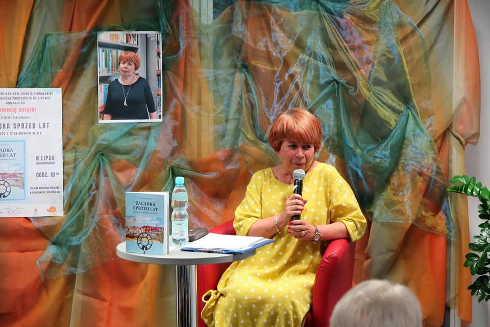 Promocja najnowszej książki Elżbiety Zakrzewskiej