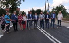 Odbiór kolejnej inwestycji drogowej Powiatu Działdowskiego (film)