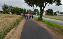 Nowa ścieżka rowerowa z dopuszczonym ruchem pieszych połączyła Dębień z Rybnem!