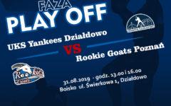 W najbliższą sobotę Yankeesi Działdowo powalczą o półfinał Bałtyckiej Ligi Baseballu!