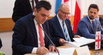 Wizyta Ambasadora Gruzji w Polsce i podpisanie Listu Intencyjnego ws. współpracy z Powiatem Działdowskim (film)