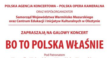 Zaproszenie na koncert do Lidzbarka