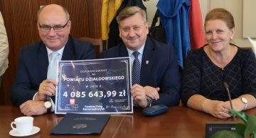 Ponad 4 miliony złotych dofinansowania dla Powiatu Działdowskiego!