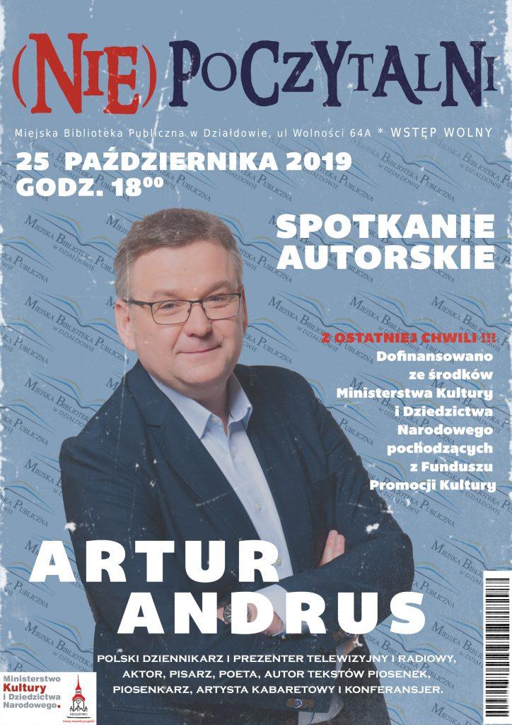 Zaproszenie na spotkanie z Arturem Andrusem
