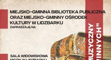 Zaproszenie na wieczór literacko-muzyczny do Lidzbarka
