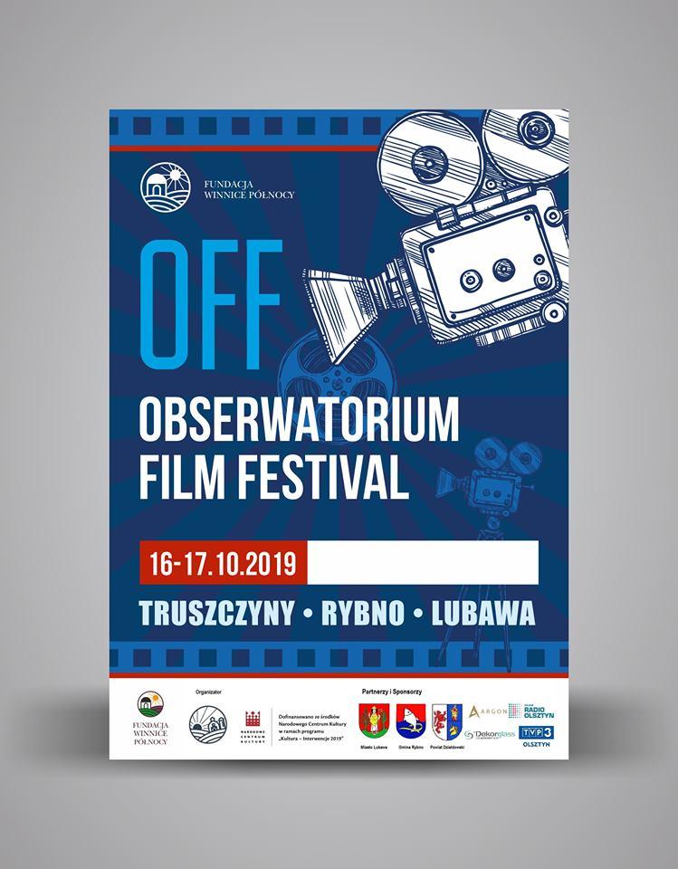 Zaproszenie na OFF Obserwatorium Film Festival