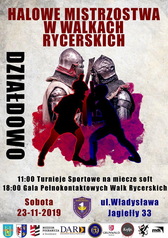 Zaproszenie na Halowe Mistrzostwa w Walkach Rycerskich