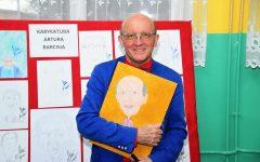 Artur Barciś w Dłutowie