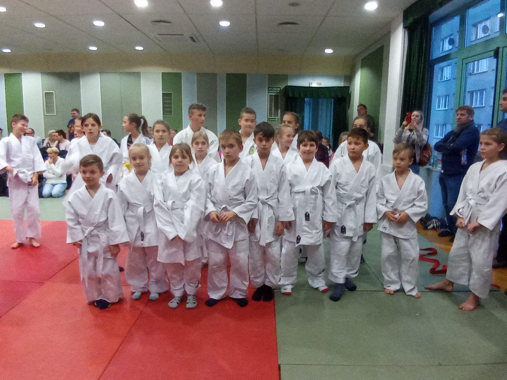 II miejsce drużyny z Koszelew na zawodach judo w Płocku