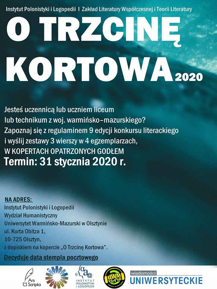 """""""O Trzcinę Kortowa"""" – konkurs dla uczniów szkół średnich"""