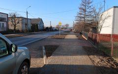 Odbiór przebudowanej ulicy Nowej w Płośnicy w ciągu drogi powiatowej nr 1286N