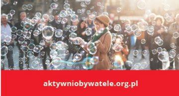 Aktywni Obywatele – Fundusz Krajowy otwarty dla beneficjentów!