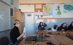 Realizacja międzynarodowego projektu eTwinning w lidzbarskim LO