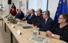 Uroczysty odbiór  przebudowy drogi wojewódzkiej nr 538 w m. Żabiny (filmy)