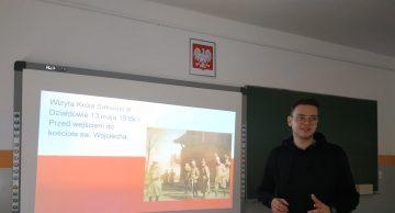 Obchody 100-lecia Powiatu Działdowskiego w lidzbarskim LO