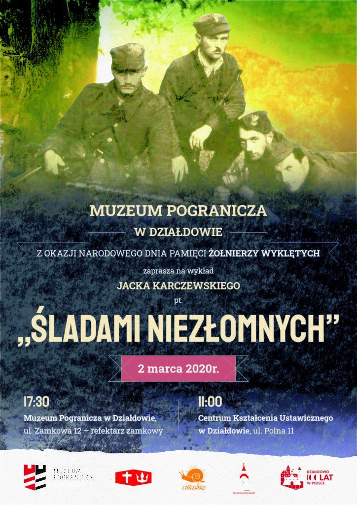 Zaproszenie na wykład Jacka Karczewskiego