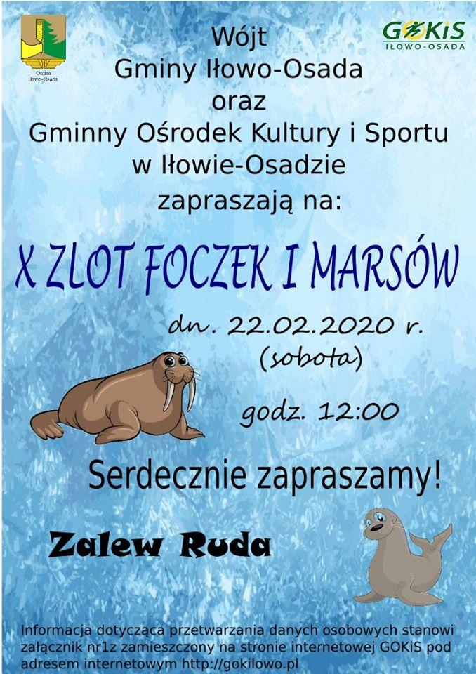 Zaproszenie na X Zlot Foczek i Morsów