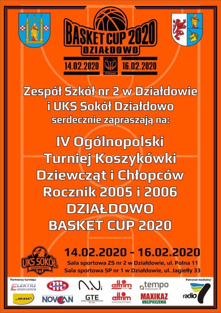 Zaproszenie na turniej koszykówki