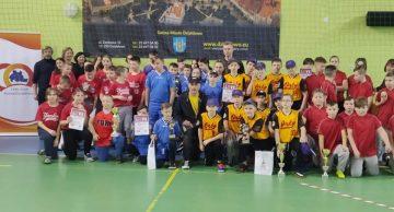 Puchar Starosty Działdowskiego w 8 Walentynkowym Turnieju  Baseballu  dla zespołu z Gdańska.