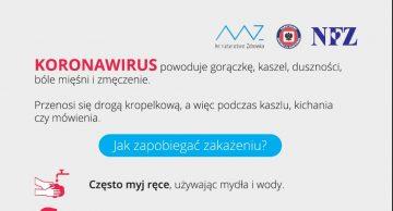 Co powinieneś wiedzieć o koronawirusie? Materiał instruktażowy
