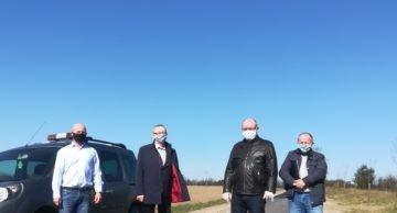 Odbior końcowy II etapu remontu drogi powiatowej Chełsty-Ciechanówko