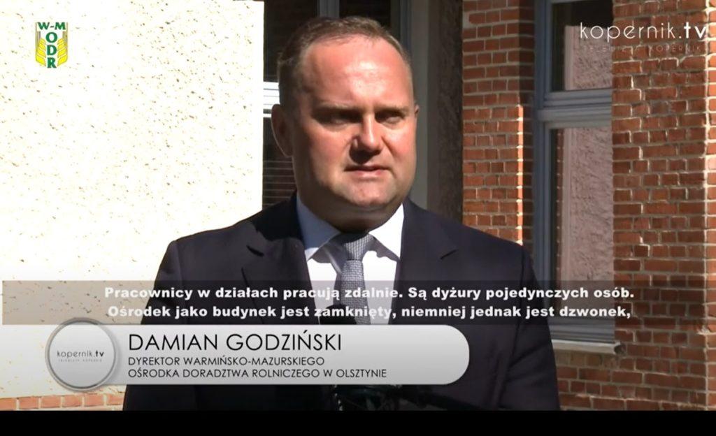Nowe formy kontaktu z Warmińsko-Mazurskim Ośrodkiem Doradztwa Rolniczego (film)