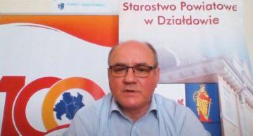 Wywiad ze starostą Pawłem Cieślińskim dla TV Mazury (film)