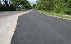 Ciąg pieszo-rowerowy na odcinku Działdowo-Kisiny oraz zatoki autobusowe oddane do użytku!