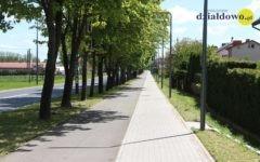 Uroczysty odbiór przebudowy odcinka drogi wojewódzkiej nr 542 w Działdowie