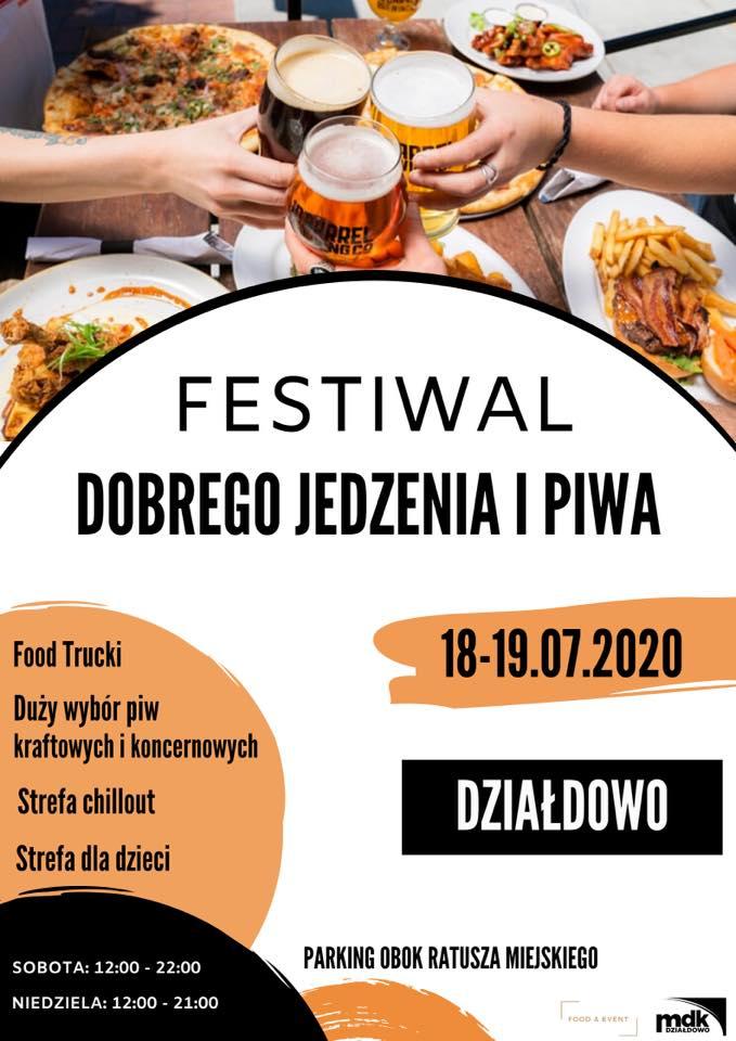 """Zaproszenie na """"Festiwal dobrego jedzenia i piwa"""""""