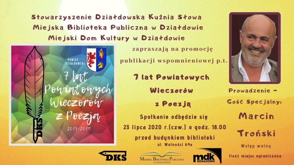 """Promocja publikacji """"7 lat Powiatowych Wieczorów z Poezją"""""""
