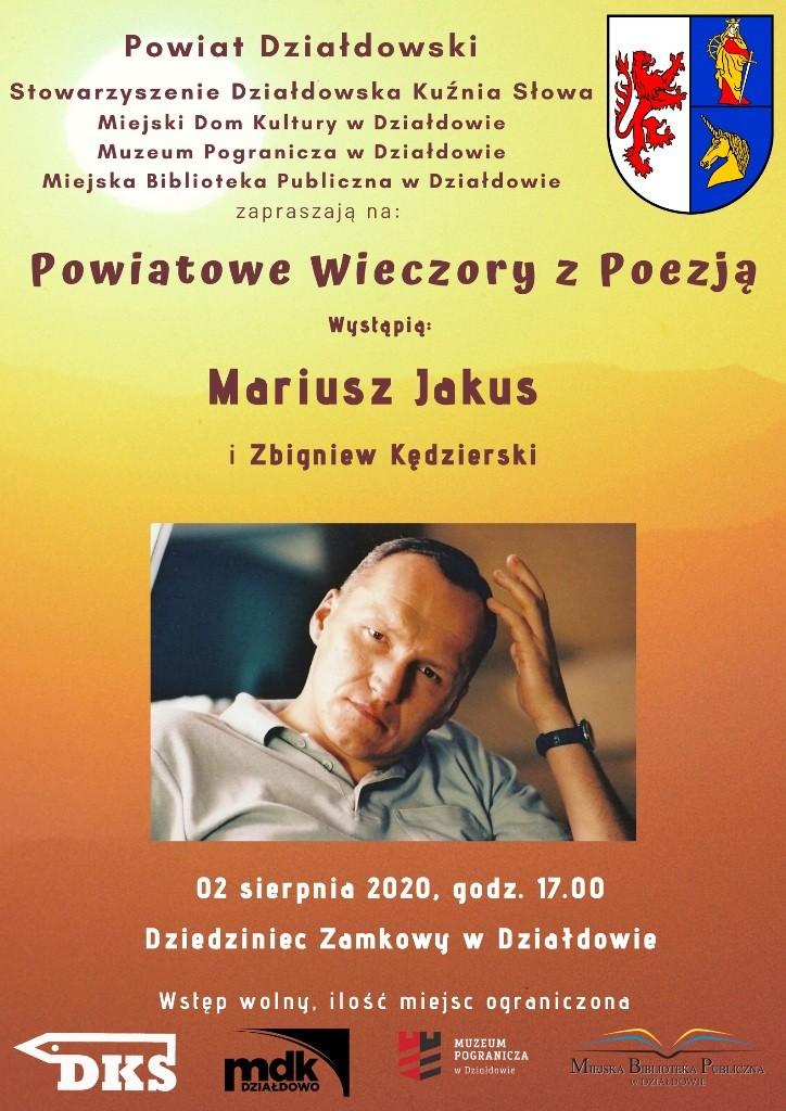 Zaproszenie na Powiatowe Wieczory z Poezją. Wieczór II