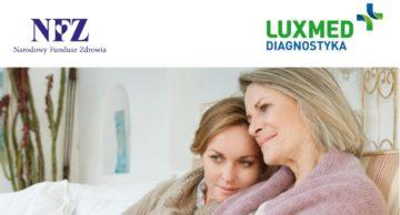 Zbadaj się i zyskaj spokój. Bezpłatne badania mammograficzne.