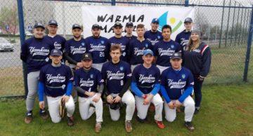 Już wkrótce rozgrywki 1 ligi baseballu i Bałtyckiej Ligi Baseballu z udziałem Yankees Działdowo.