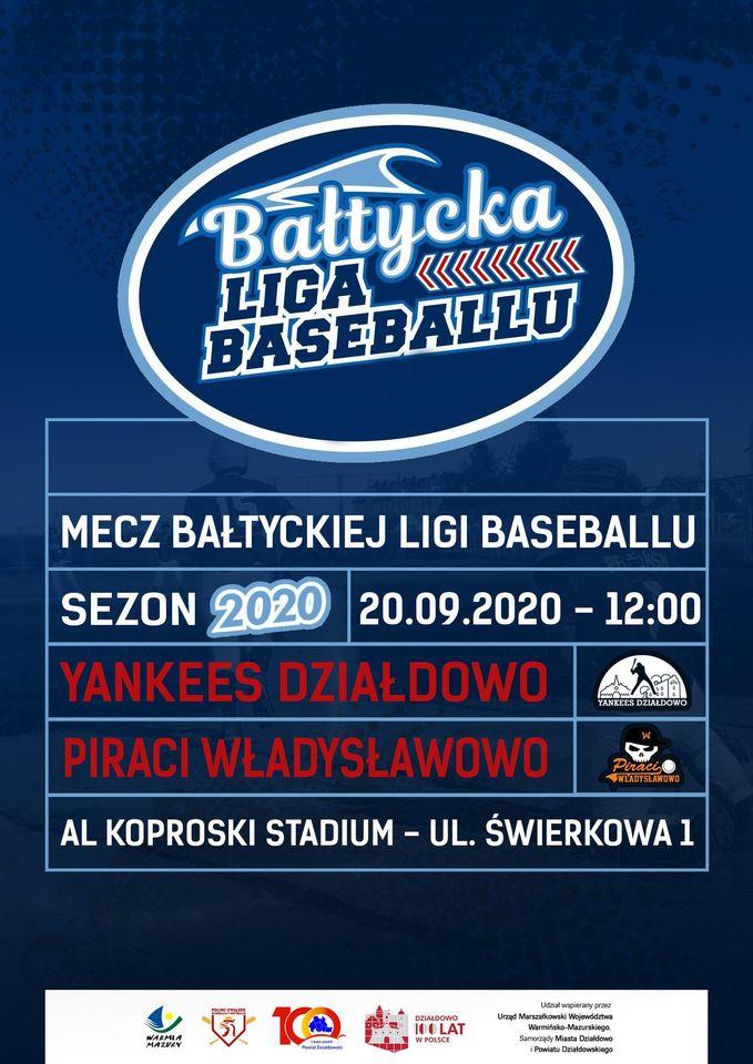 Yankees Działdowo – Piraci Władysławowo. Zapowiedź meczu