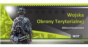 Zostań żołnierzem Wojsk Obrony Terytorialnej – ogłoszenie Burmistrza Miasta Działdowo