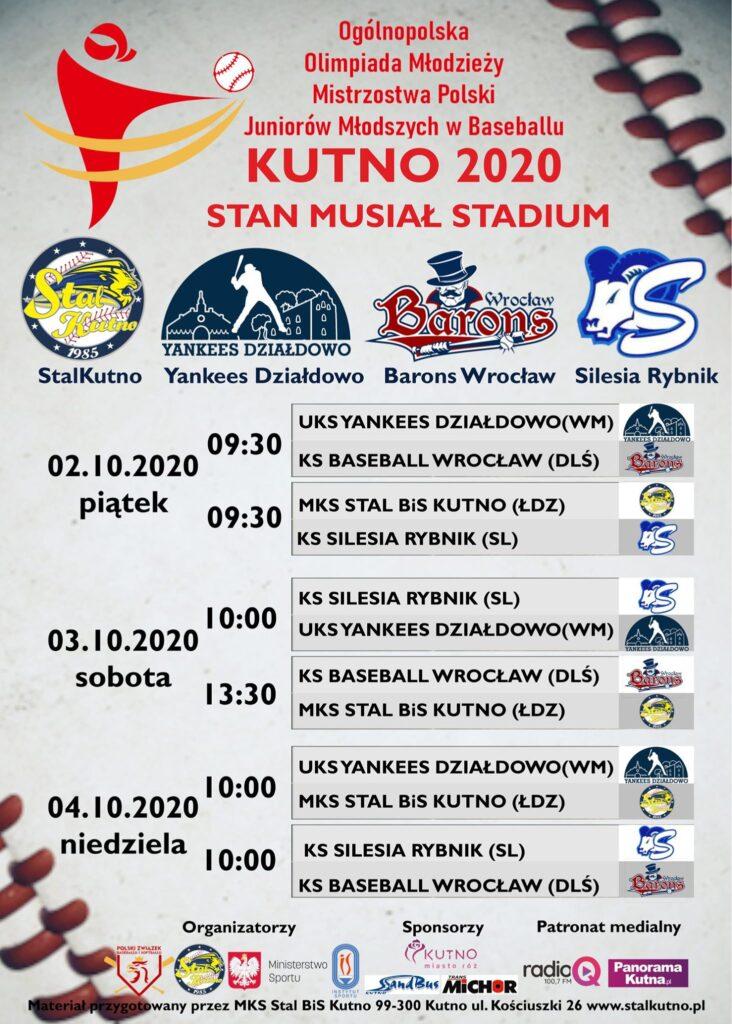 Baseballiści z Warmii i Mazur powalczą o medal na Ogólnopolskiej Olimpiadzie Młodzieży w Kutnie