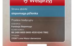 Prośba Starosty Nidzickiego w sprawie chorej Lenki