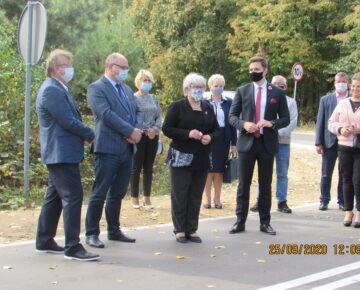 Odbiór końcowy inwestycji: Remont (odnowa) drogi powiatowej nr 1556N Iłowo-Sochy-Dźwierznia- gr. powiatu (film)