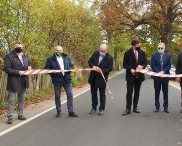 Odbiór odnowionego odcinka drogi powiatowej nr 1290N Płośnica-Prioma-Wysoka od Płośnicy do przejazdu kolejowego (film)