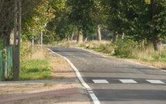 Odbiór 4-kilometrowego odcinka drogi powiatowej 1256N Dębień – Rumian (film)