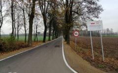 """Odbiór końcowy inwestycji """"Remont (odnowa) drogi powiatowej nr 1265 N od km 2+124 do km4+922 o dł.2,798 km od gr. powiatu-Gąsiorowo-do skrzyżowania z drogą pow. nr 1284 N""""."""